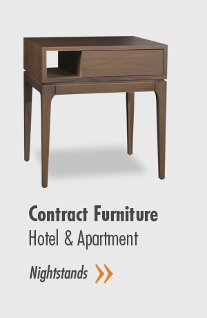 Contract Furnitures - Hotel & Apartment - Nightstands