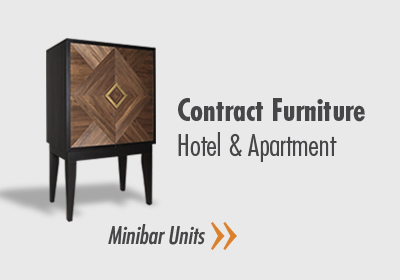 Contract Furnitures - Hotel & Apartment - Minibar Units