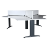 Matrix Triple Workstation Desk